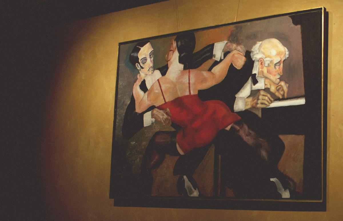 Tango painting gallery Jono Schaferkotter artist