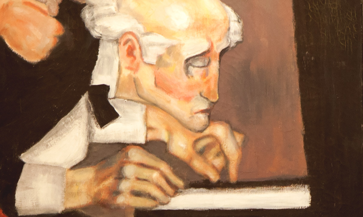 Tango painting pianist piano Jono Schaferkotter artist